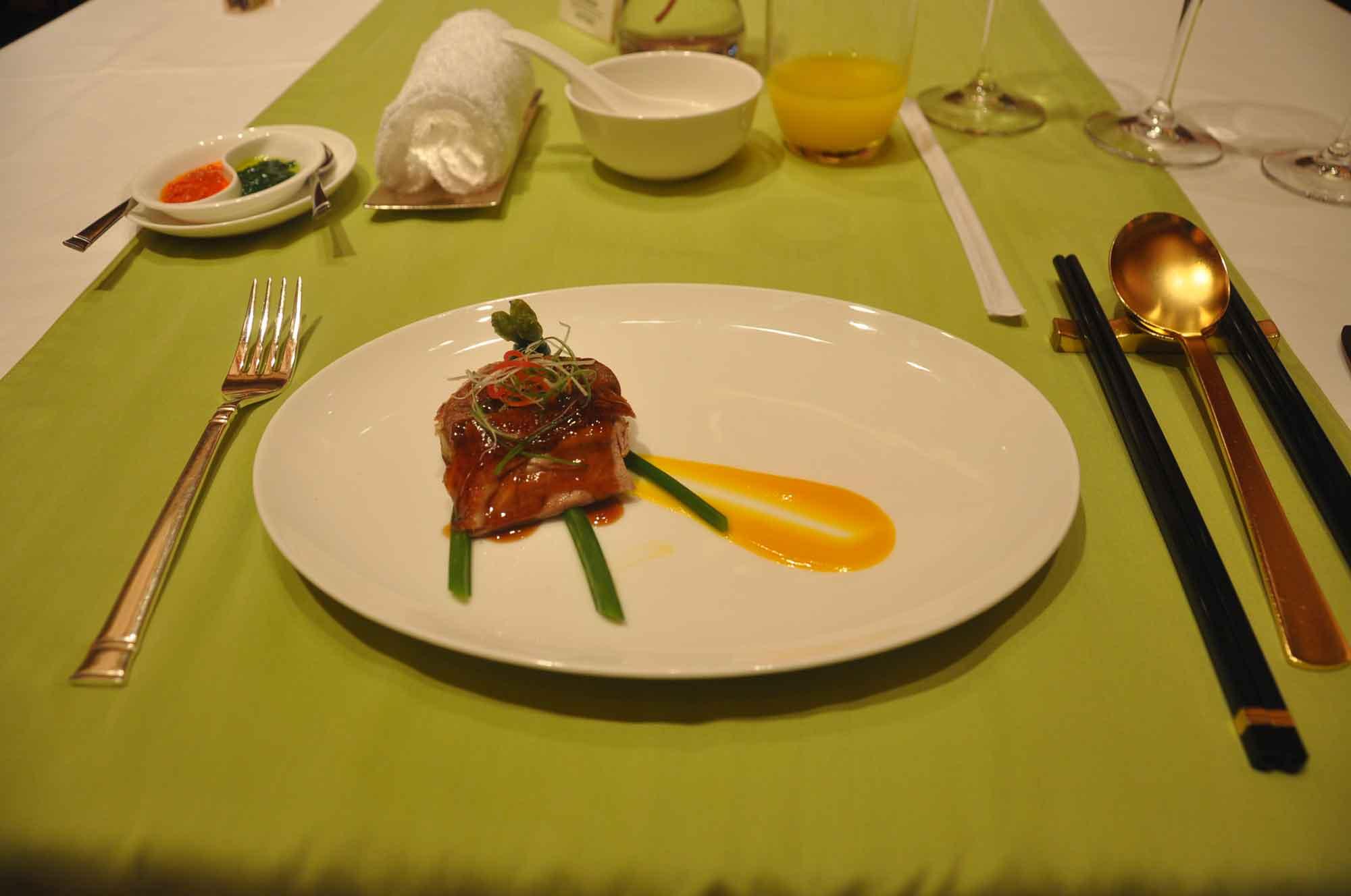Wynn Lei abalone and pork