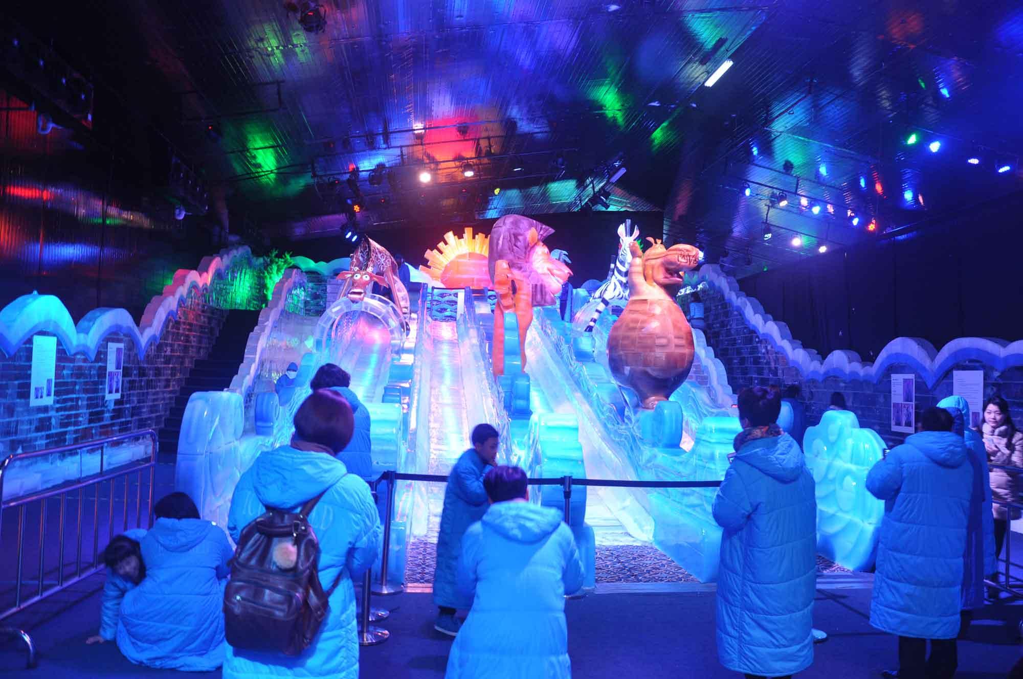 Ice World Macau Dreamworks Characters