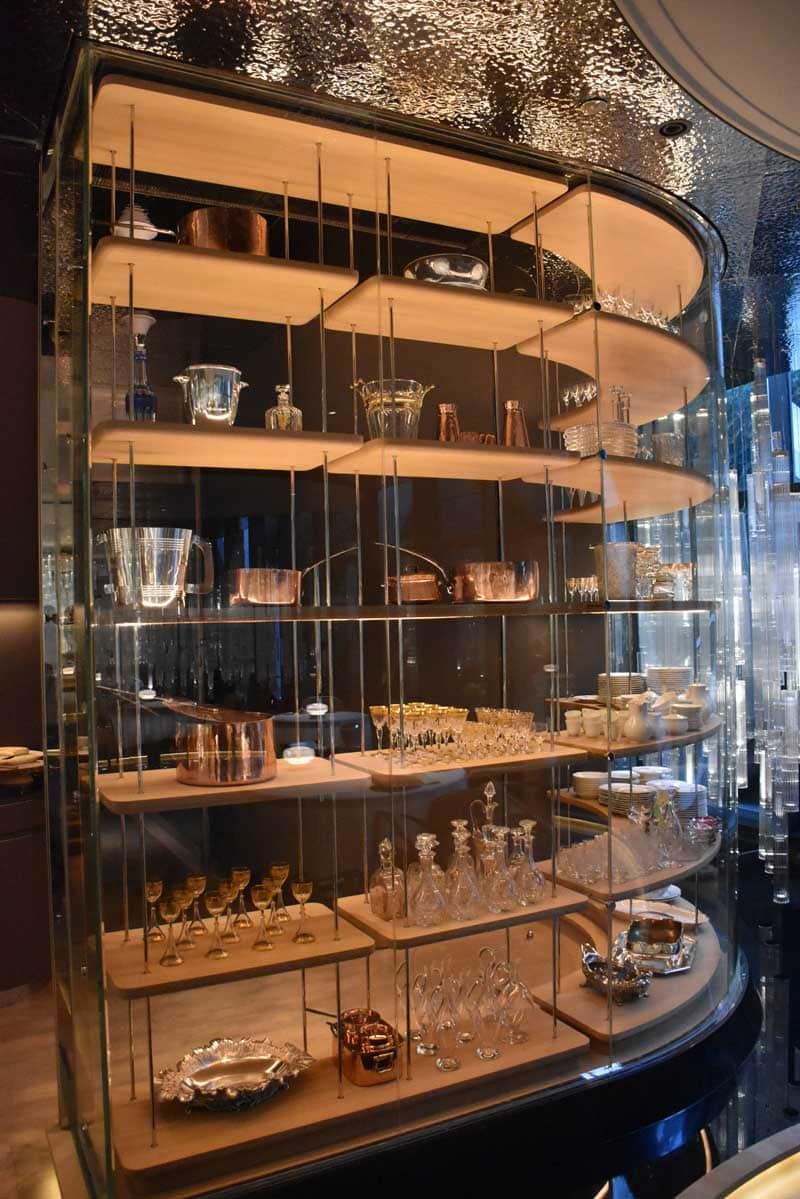 Alain Ducasse Macau glasses and bowls