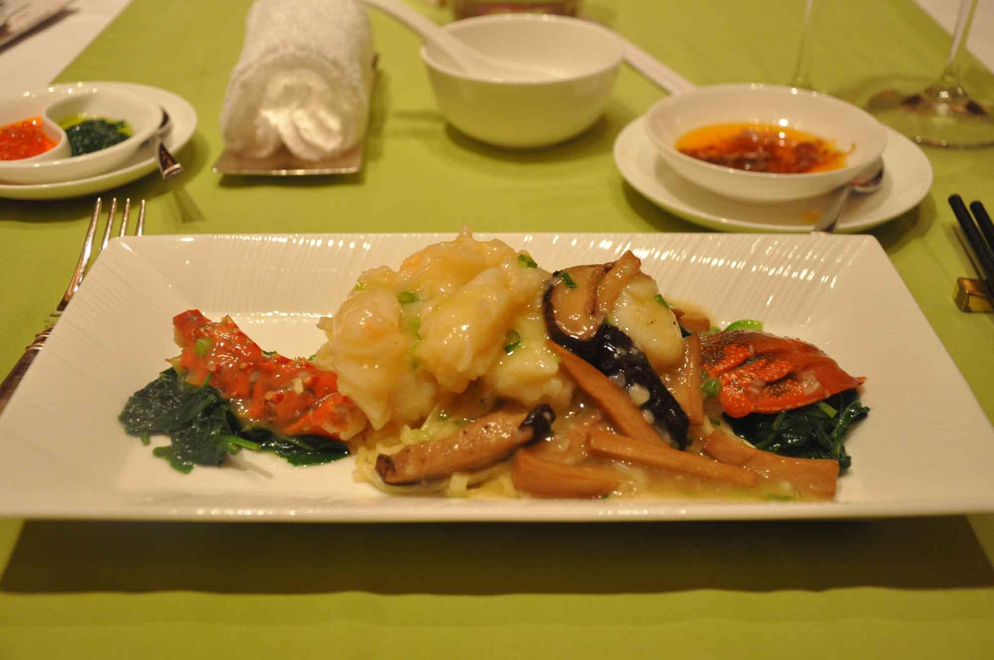 Wynn Lei baked lobster