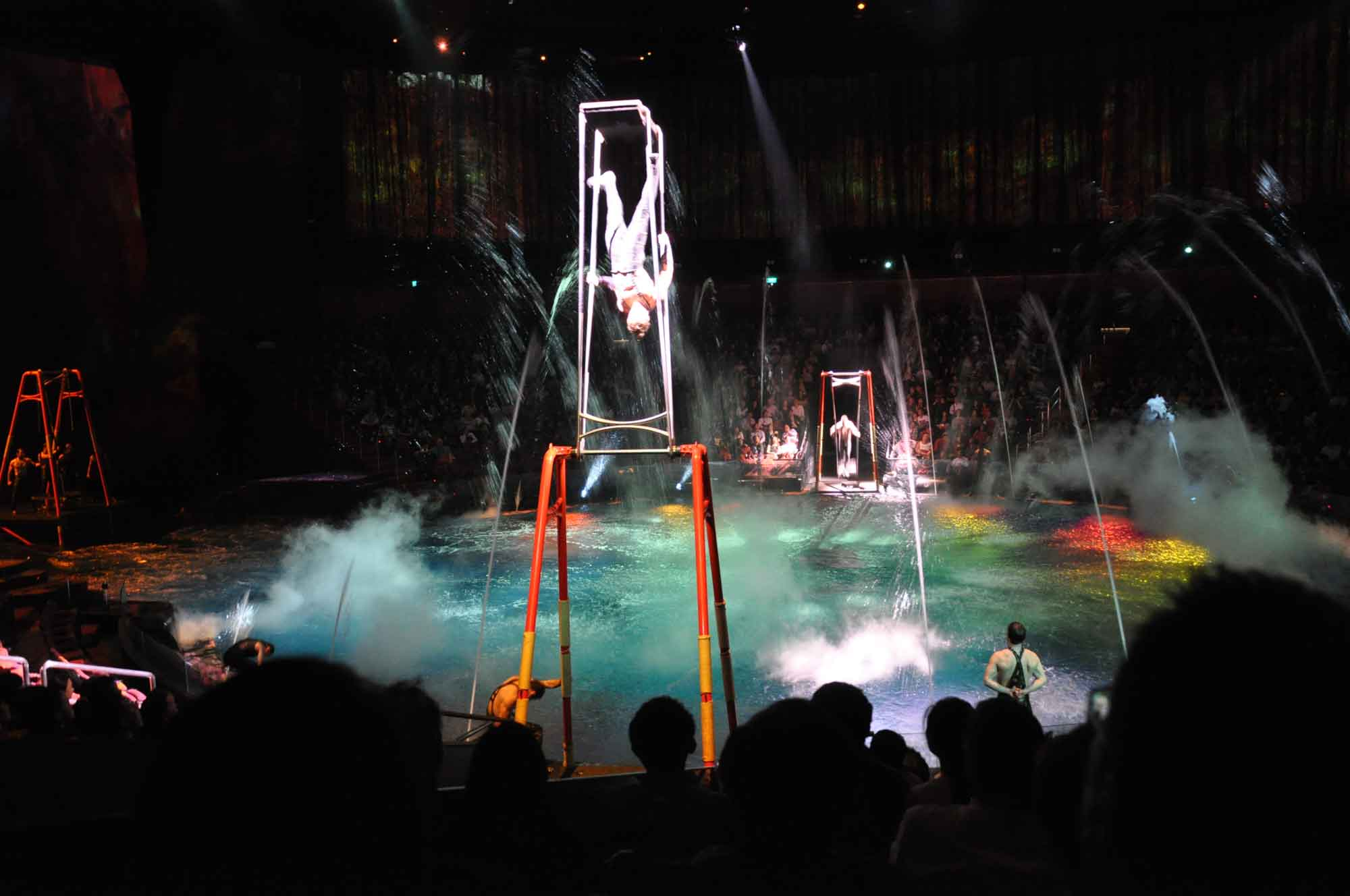 House of Dancing Water Macau swing acrobats