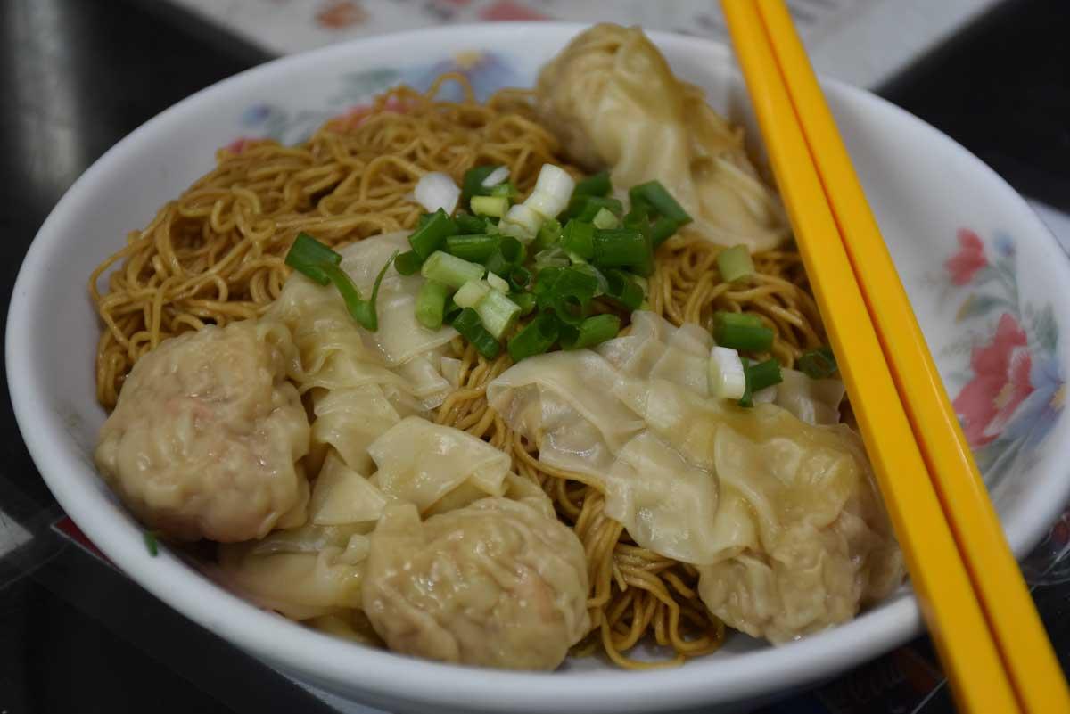 Niu Ji Macau Fresh Shrimp with Wonton Noodles