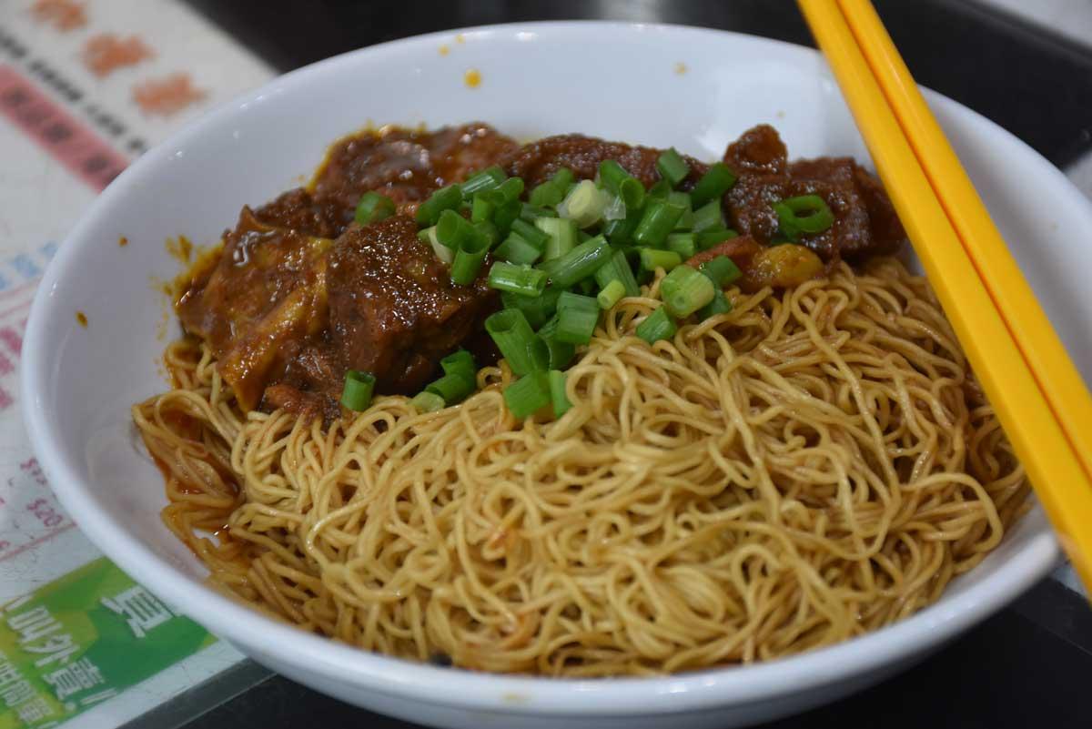 Niu Ji Macau Spicy Curry Beef with Noodles