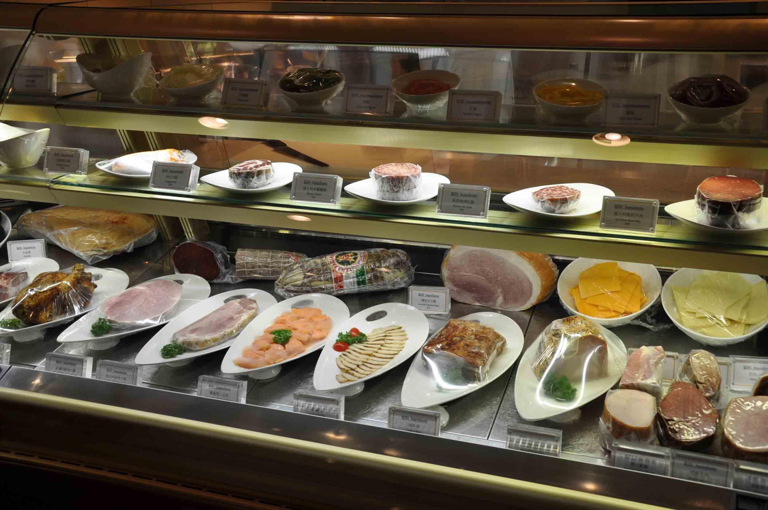 Crystal Lounge and Deli meats Grand Lisboa Macau