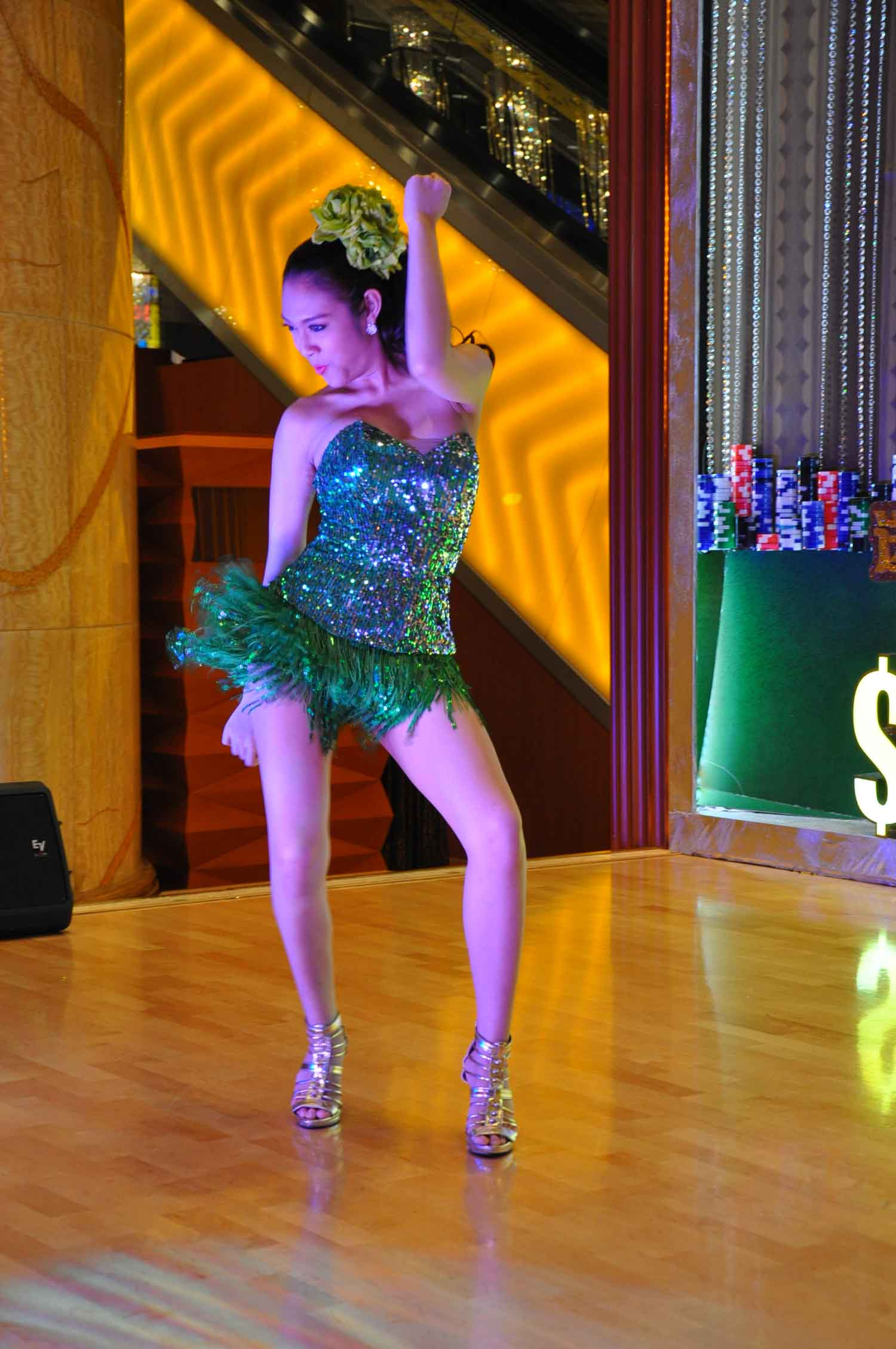 Starworld Macau dancer