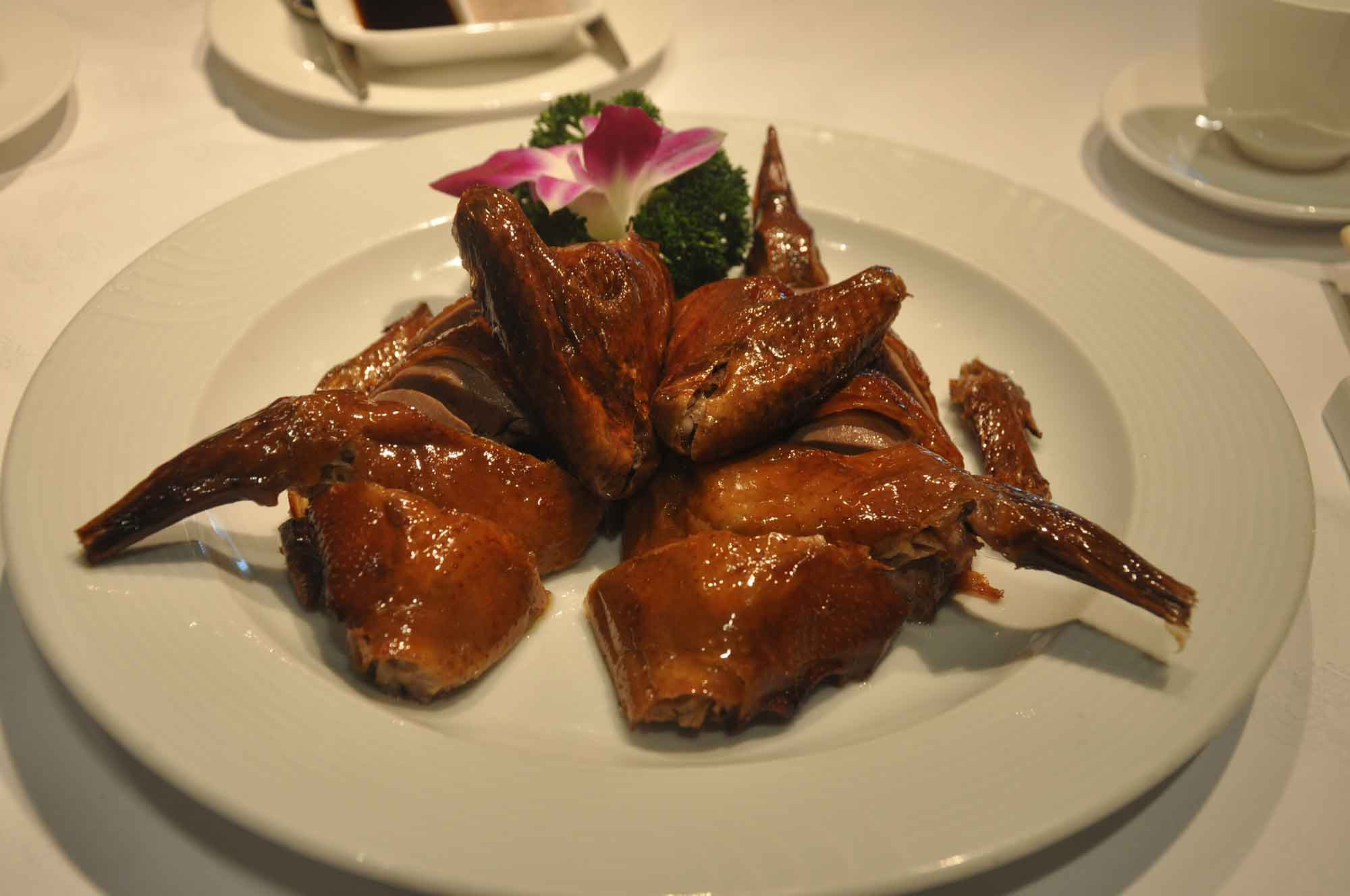 Famous Macau Dishes: Roasted Pigeon at Tim's Kitchen