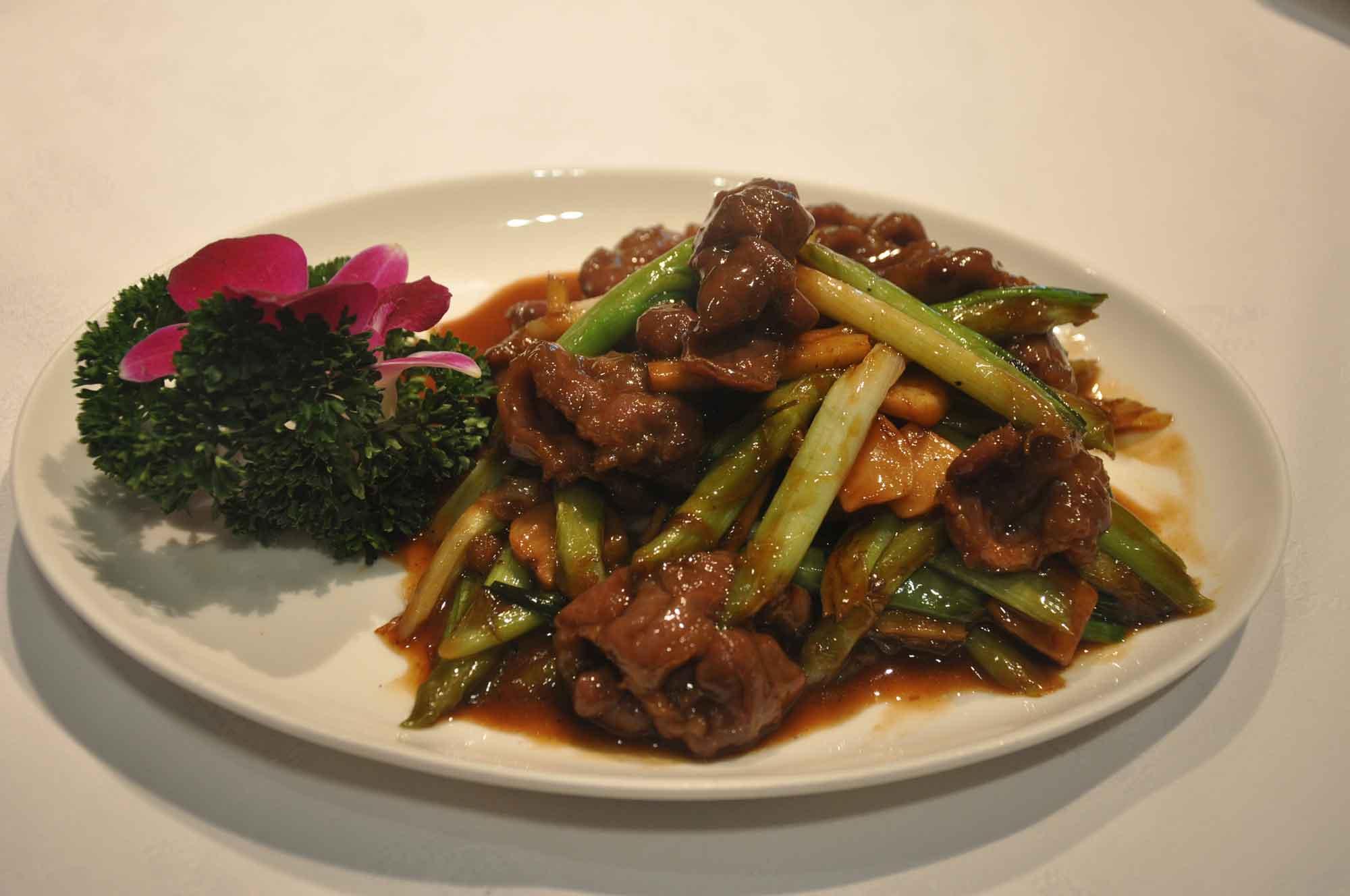 Tim's Kitchen Macau sauteed beef tenderloin with ginger