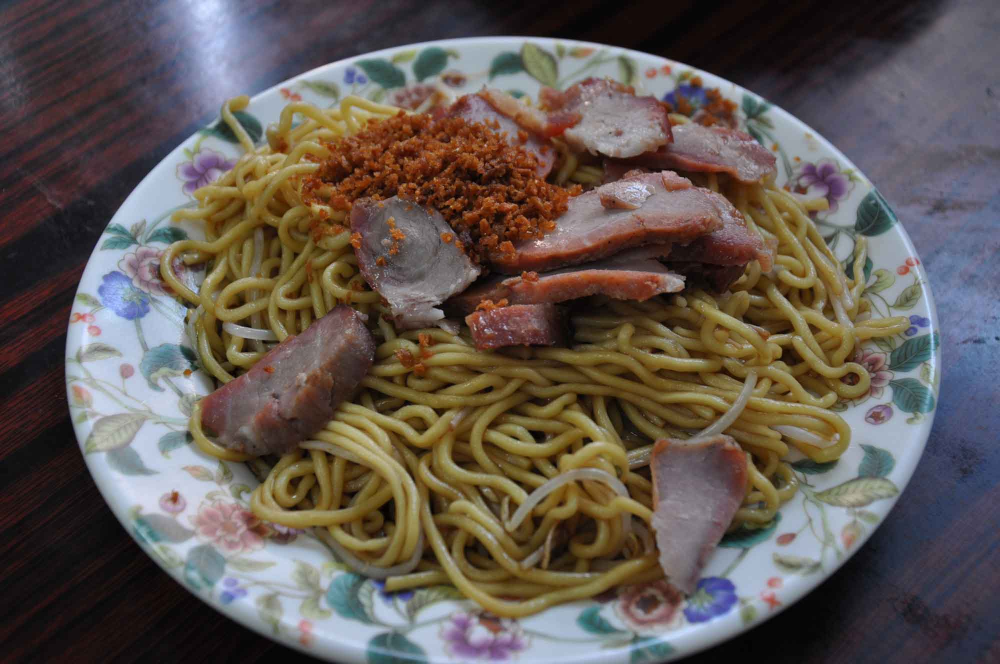 Seng Kuan rice noodles with barbecue pork