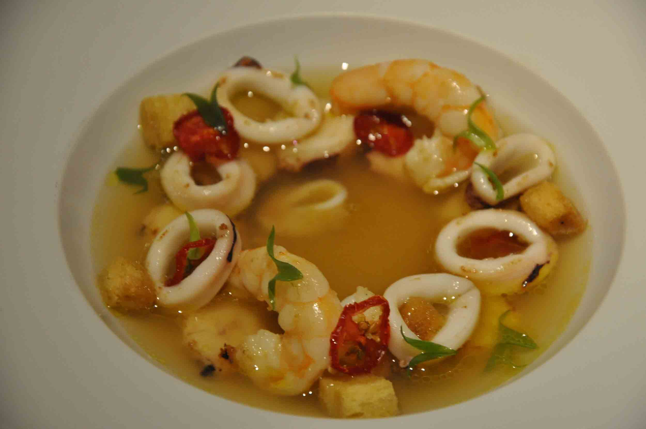 Fado Macau octopus and squid soup
