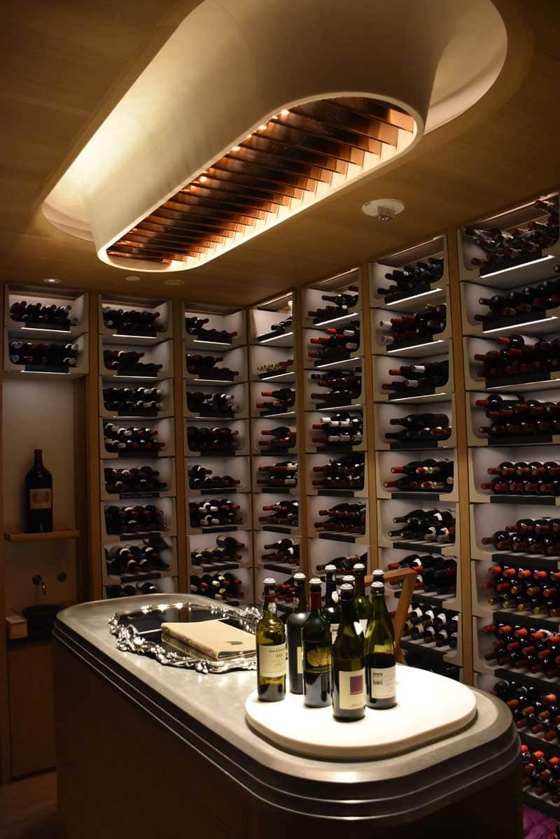 Alain Ducasse Macau wine cellar
