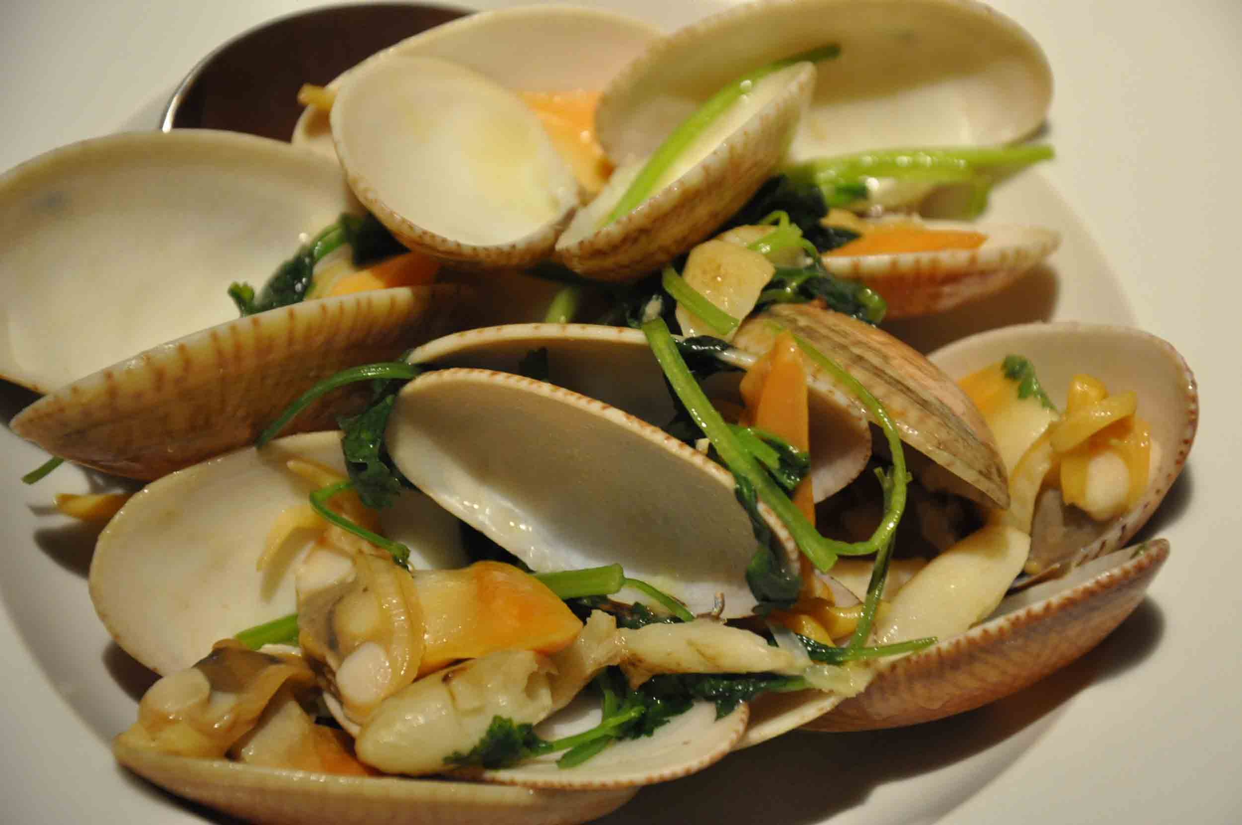 Fado Macau king clams