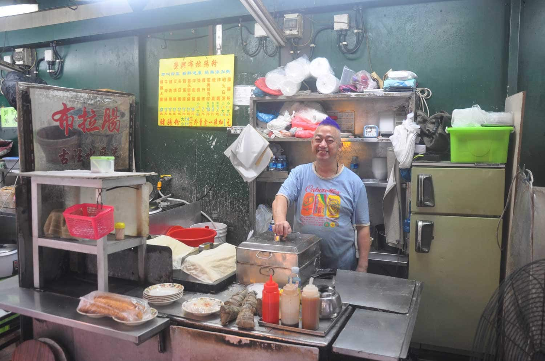 Macau Street Food: Purple hair pyrotechnics