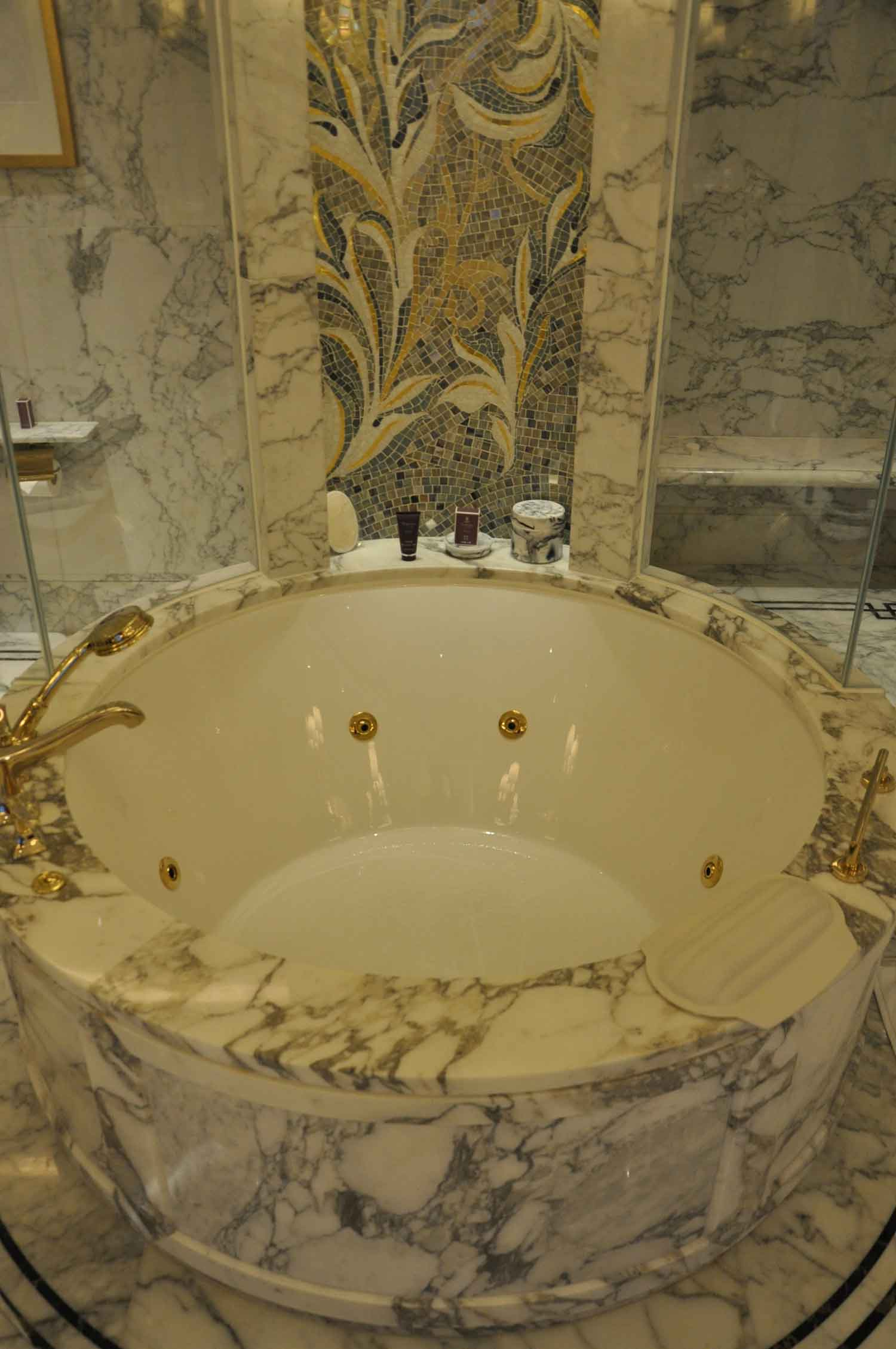Ritz-Carlton Macau Premier Suite bathtub