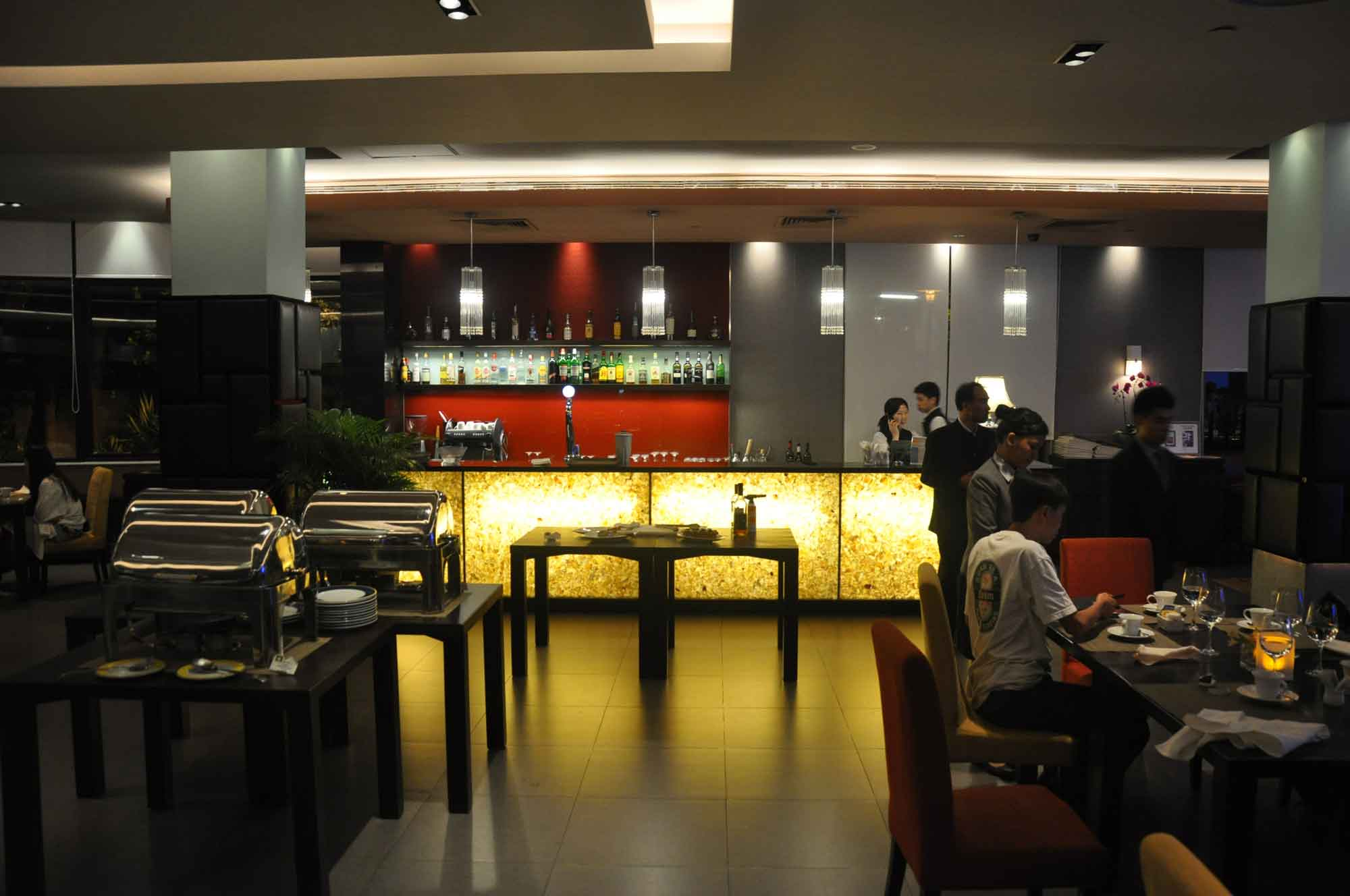 IFT Educational Restaurant Macanese and Portuguese Dinner Buffet seating