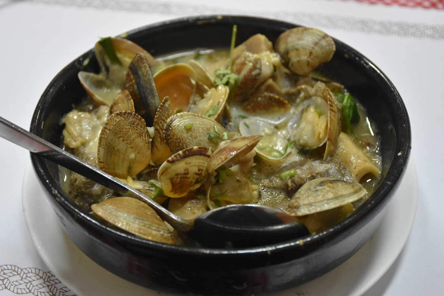 O Santos Macau Lamb Stew with Clams