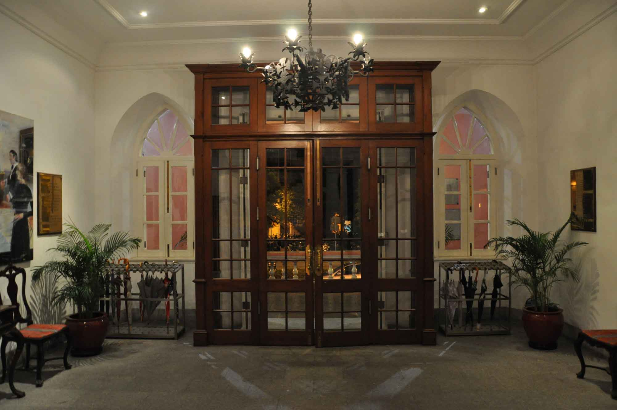 Military Club Macau door