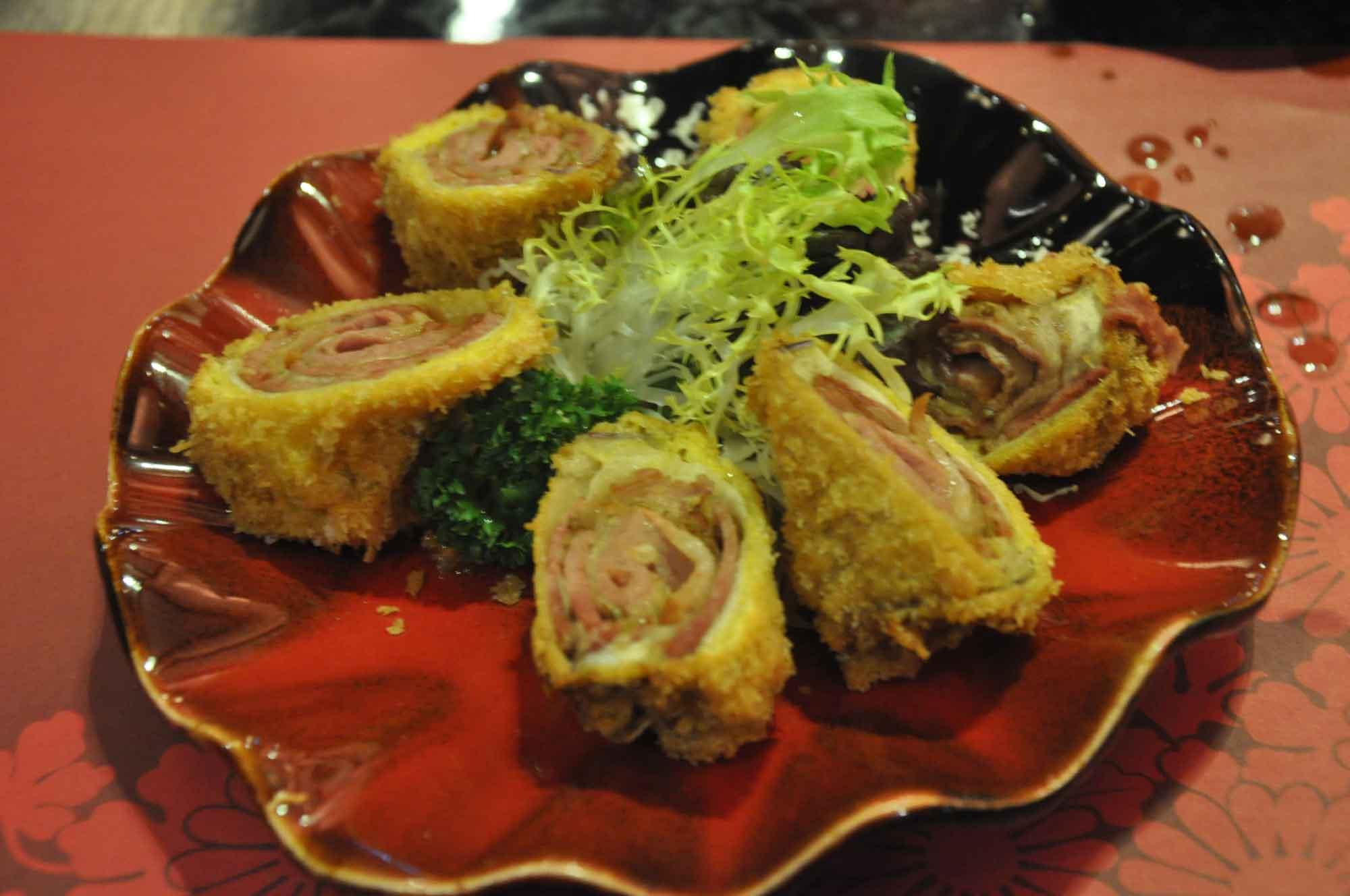 Fortuna Japanese Restaurant duck breast sashimi