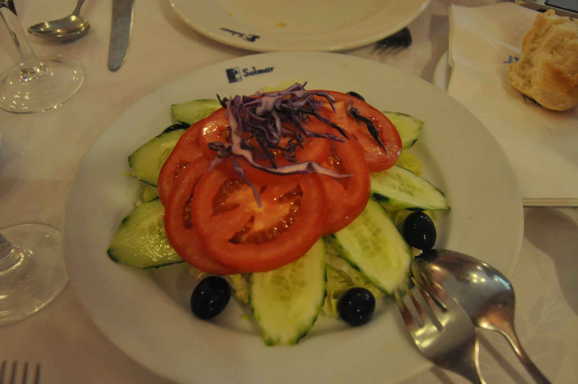 Solmar Macau vegetable salad