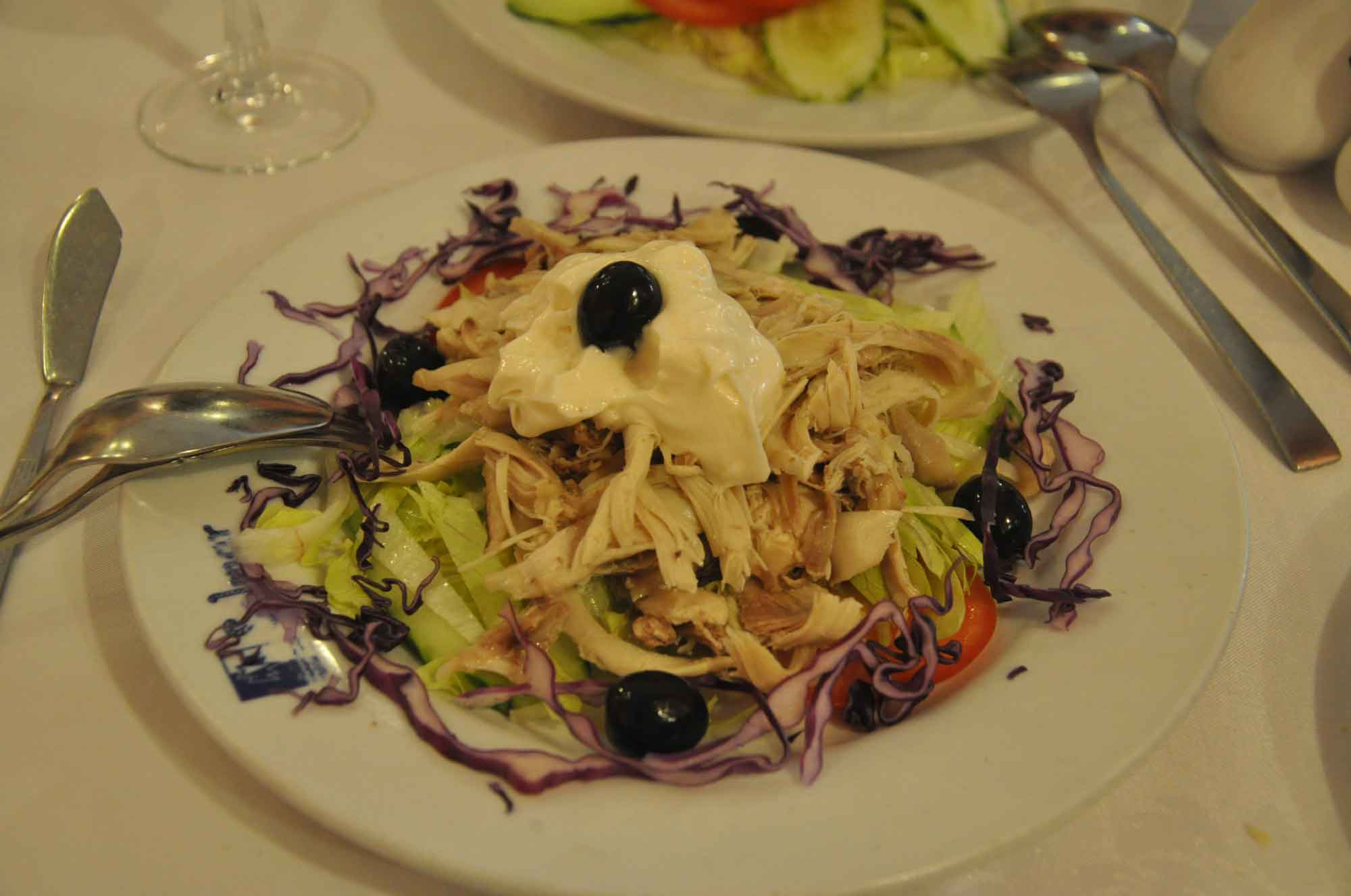 Solmar Macau chicken salad