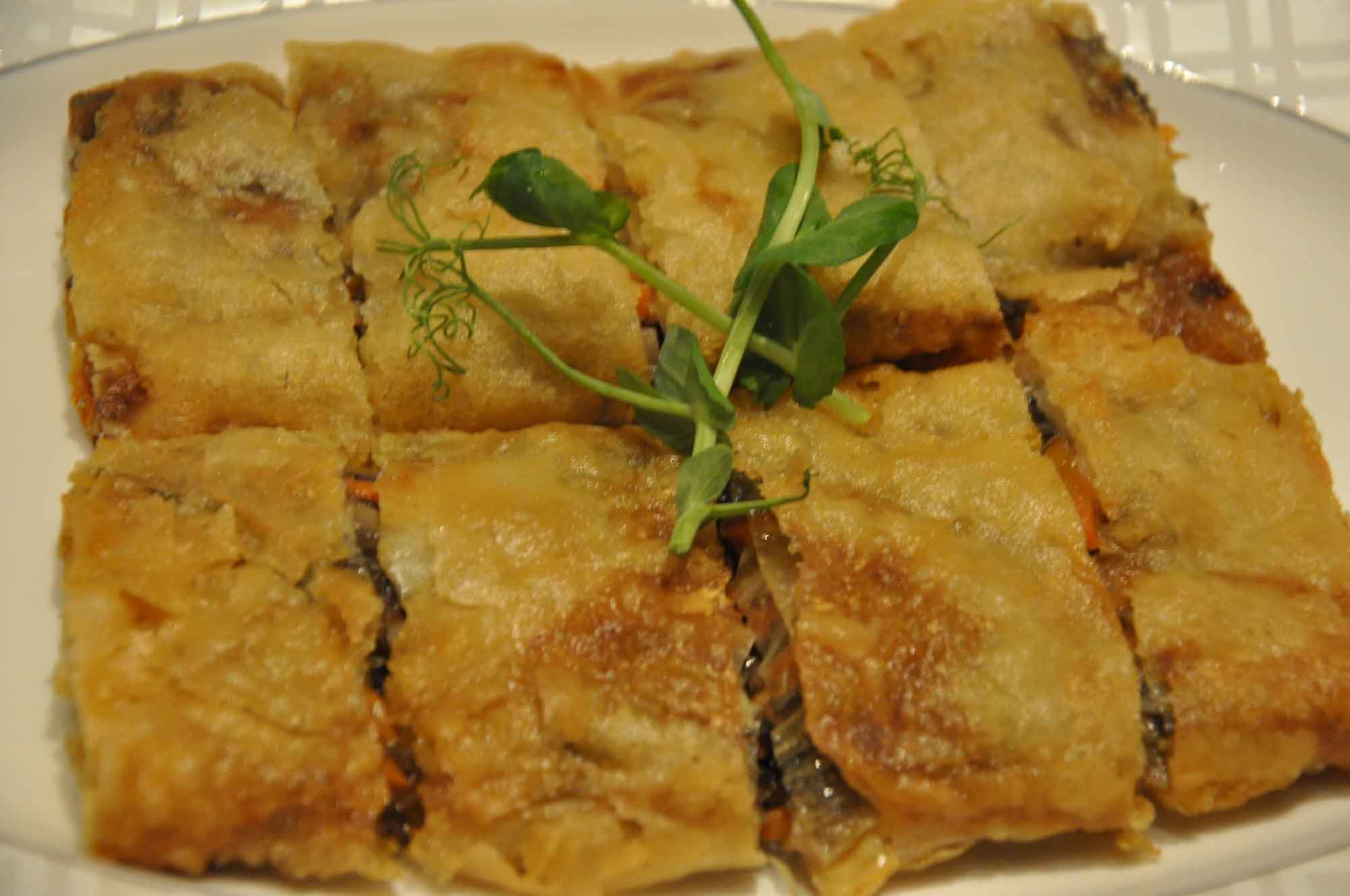 Lai Heen Macau Smoked Binkert with Carrots and Mushrooms