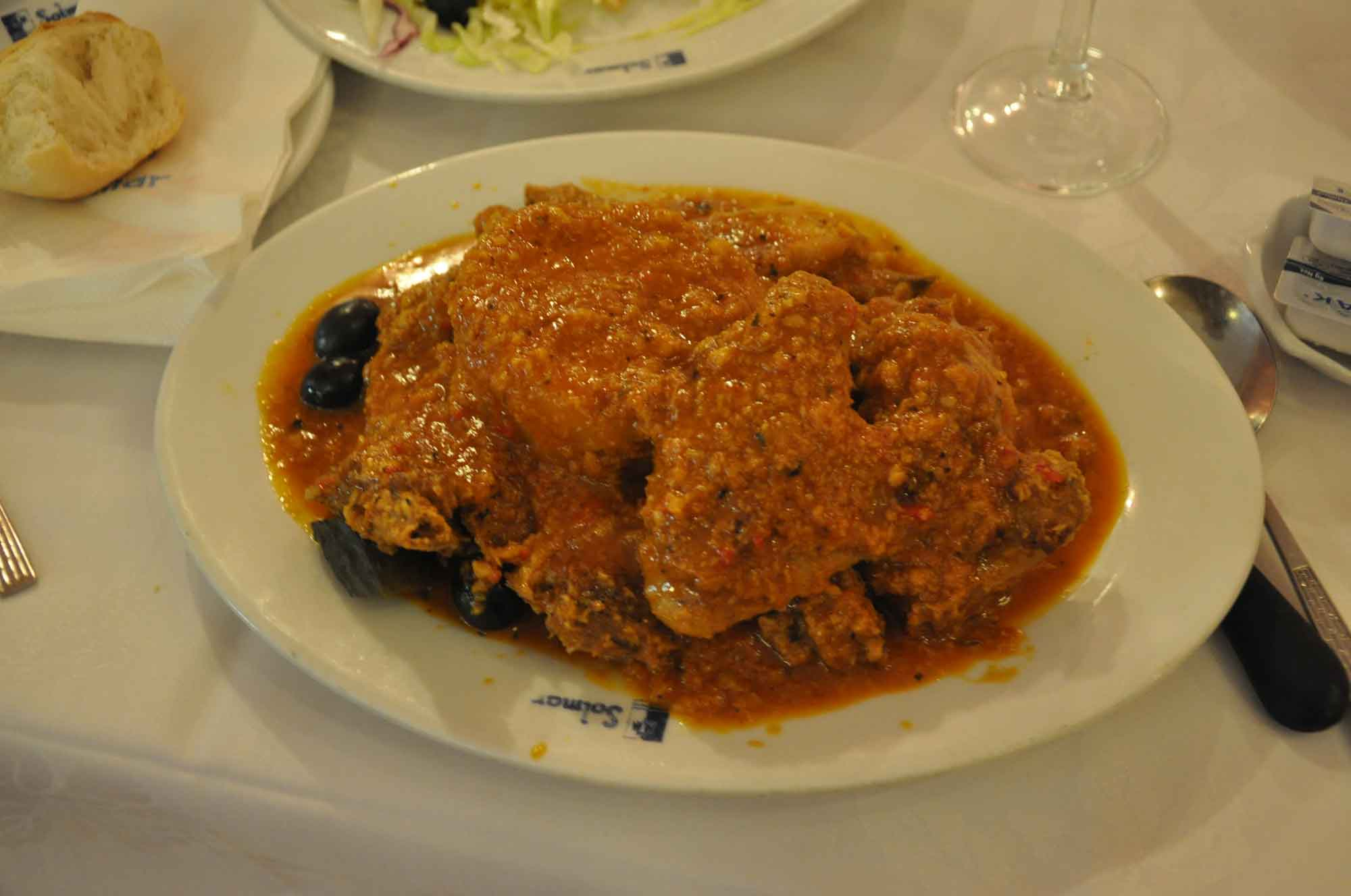 Solmar Macau African Chicken