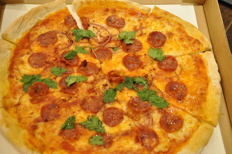 Terrazza Macau piccante pizza