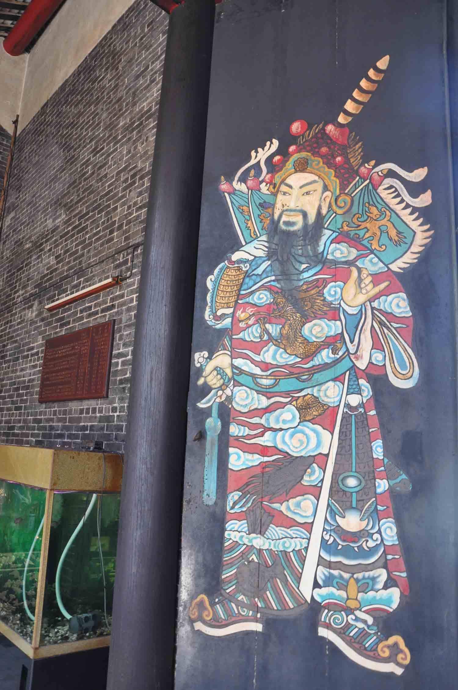 Hong Kung Temple doorman