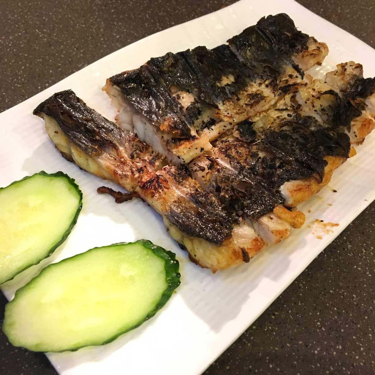Man Lei Cheong Seng Grilled Eel