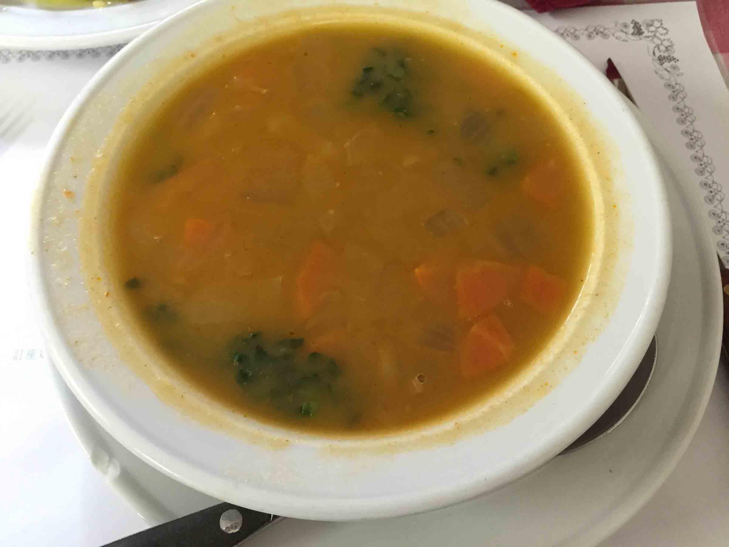 A Petisqueira Vegetable Soup