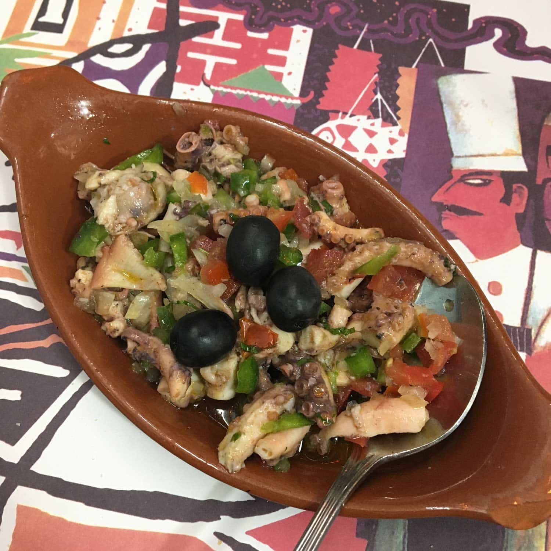 Dom Galo Macau octopus salad