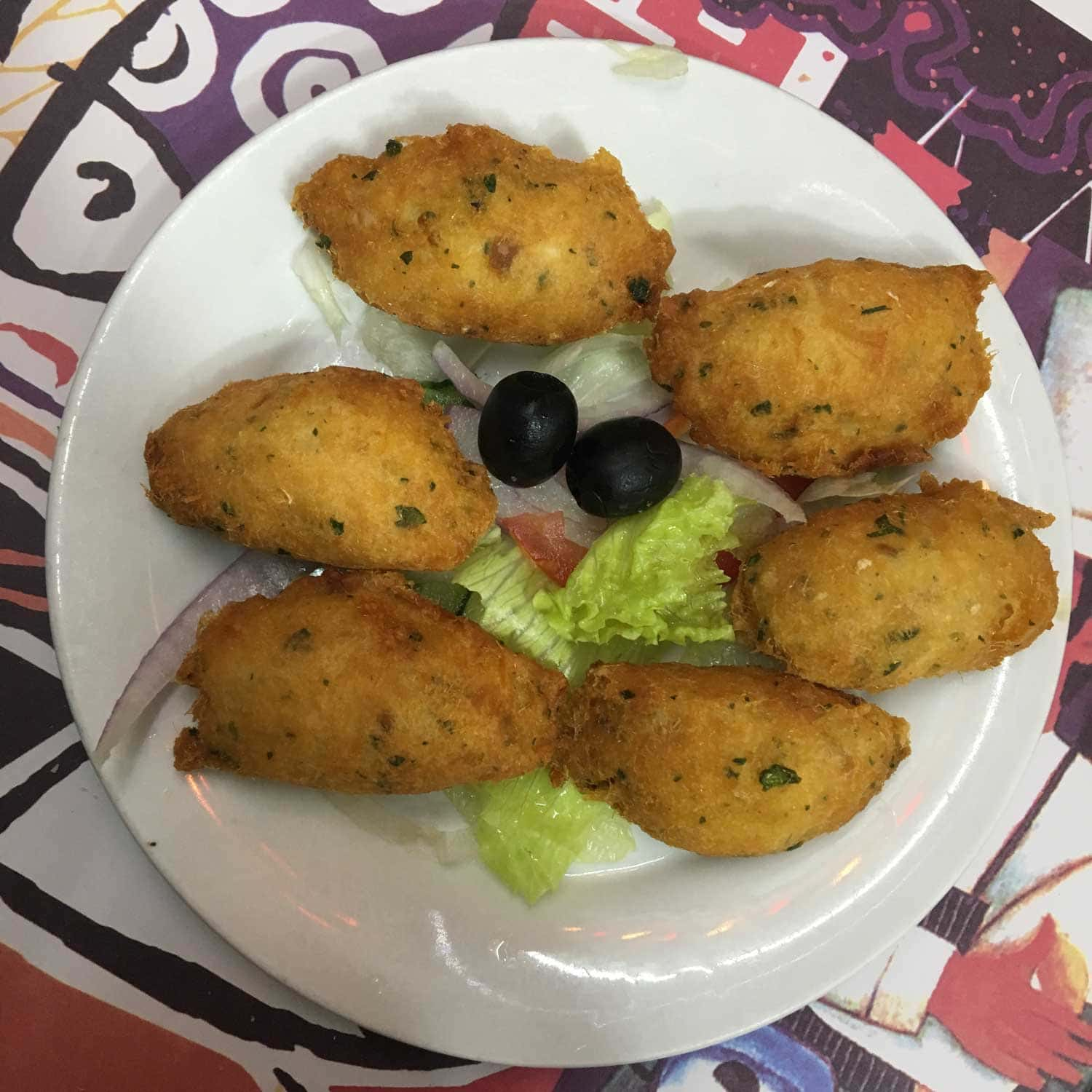 Best Macau Dishes: Codfish Cakes at Dom Galo