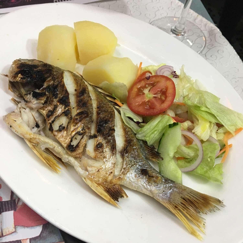 Best Macau Restaurants: Sea Bream at Dom Galo