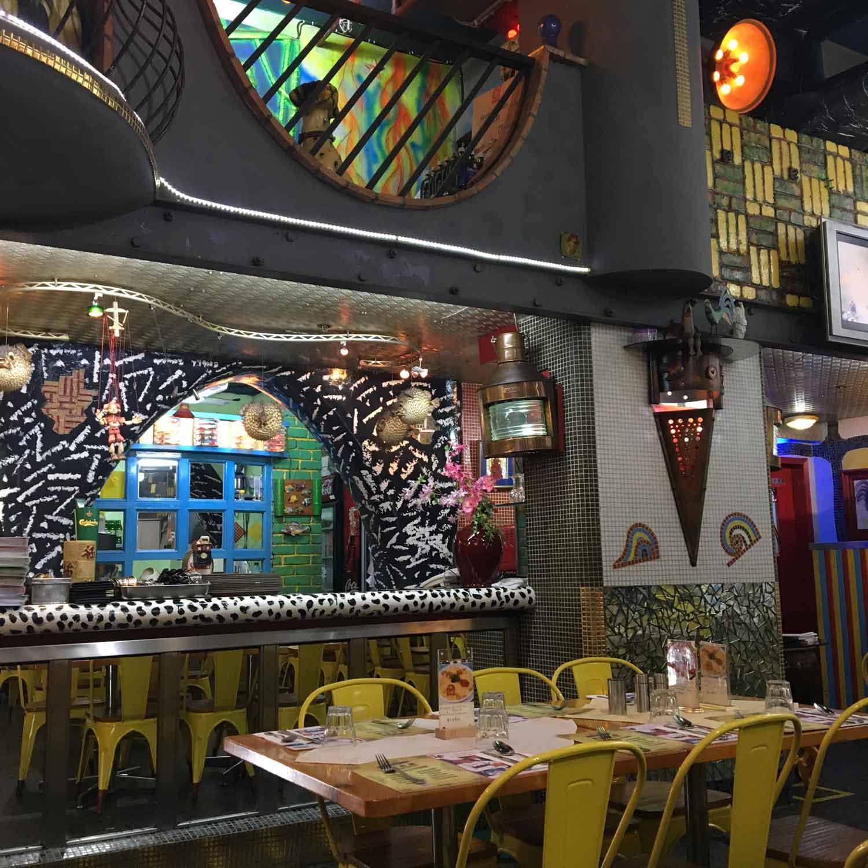 Dom Galo Macau colorful walls