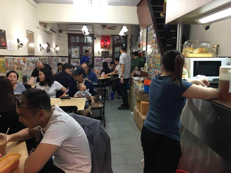 Ya Xiang Macau indoor seating