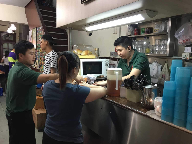 Ya Xiang Macau pay counter