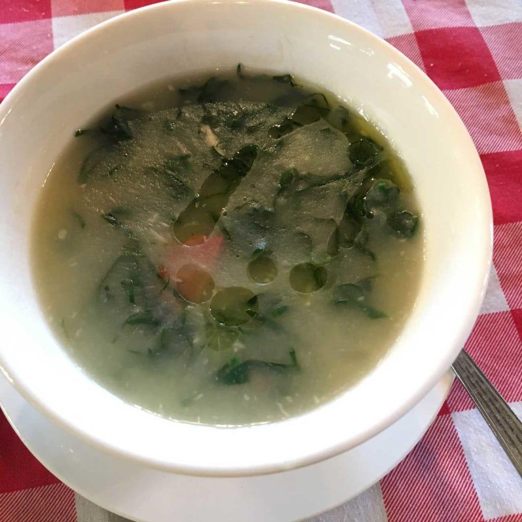 Fernando Macau Caldo Verde Soup