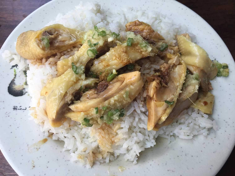 Lou Van Fai Kei chicken leg rice