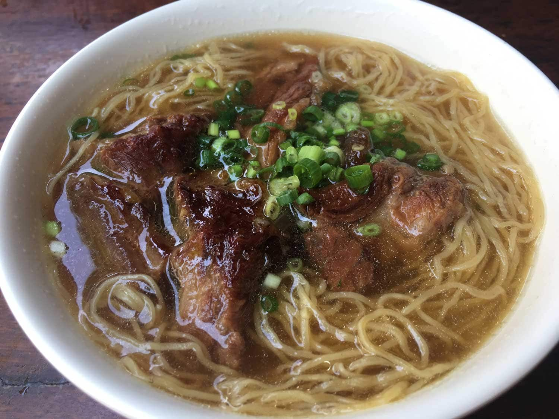 Lou Van Fai Kei beef brisket soup