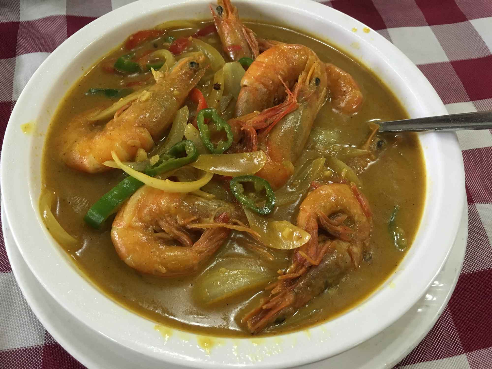 Nga Tim Macau shrimp curry