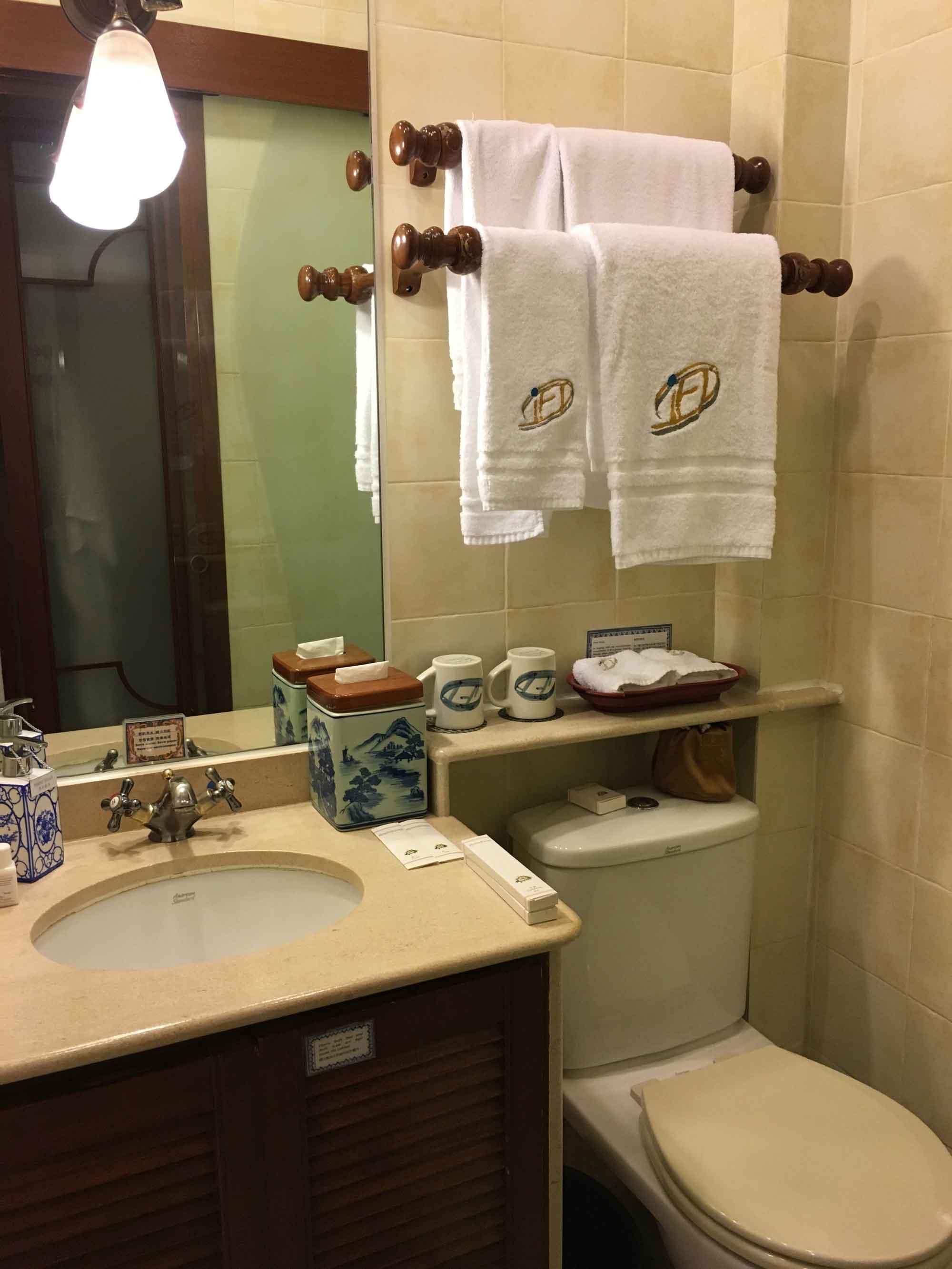 Pousada de Mong Ha Standard Room bathroom