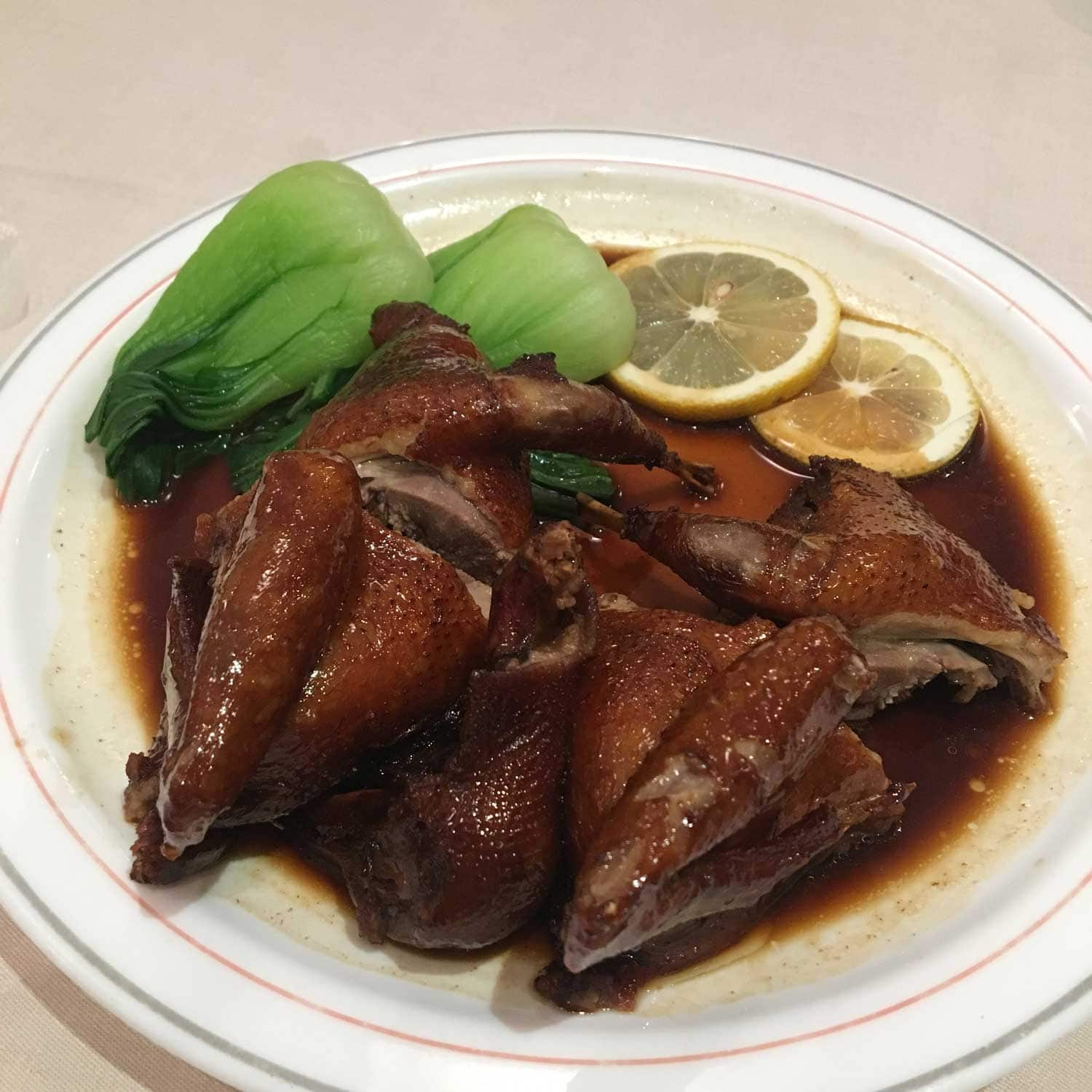 Roasted Pigeon at Fat Siu Lau