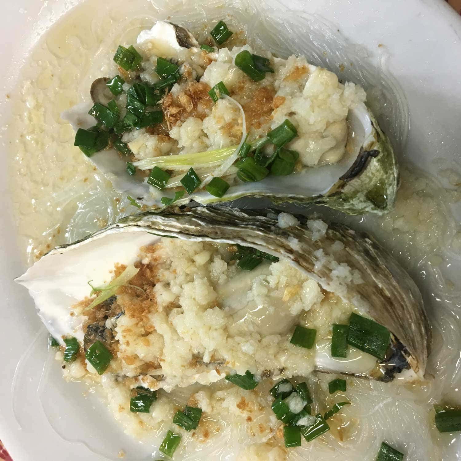 Best Macau Dishes: Oysters at He Fa Ma Tou Mei Shi