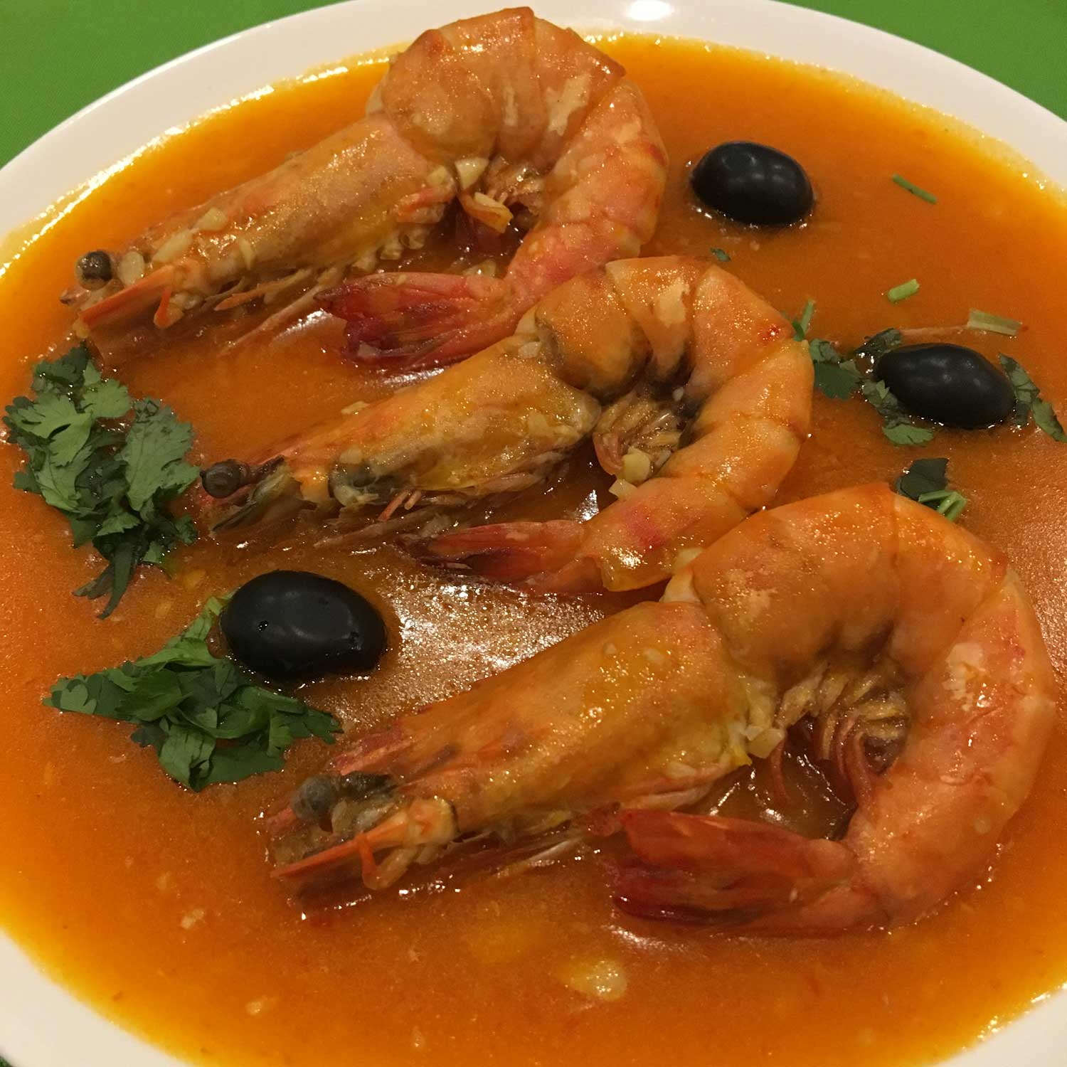 Top Macau Dish: Macanese Chilli Shrimps at Carlos