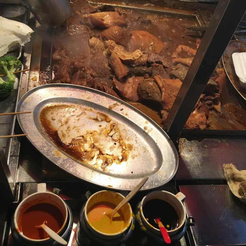 Macau Street Food: Ming Ji Restaurant beef organs
