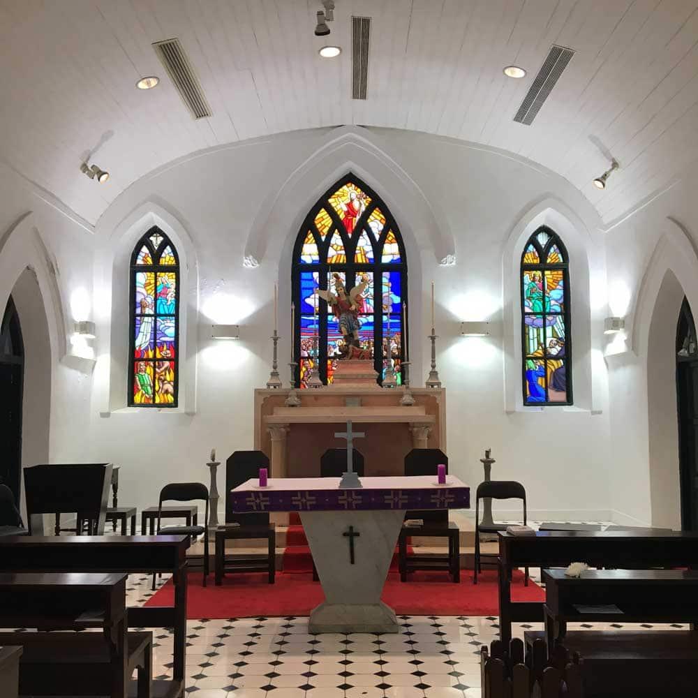 Chapel of St. Michael interior