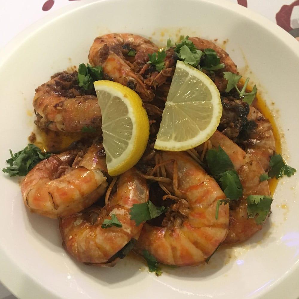 Castico Macau garlic prawns
