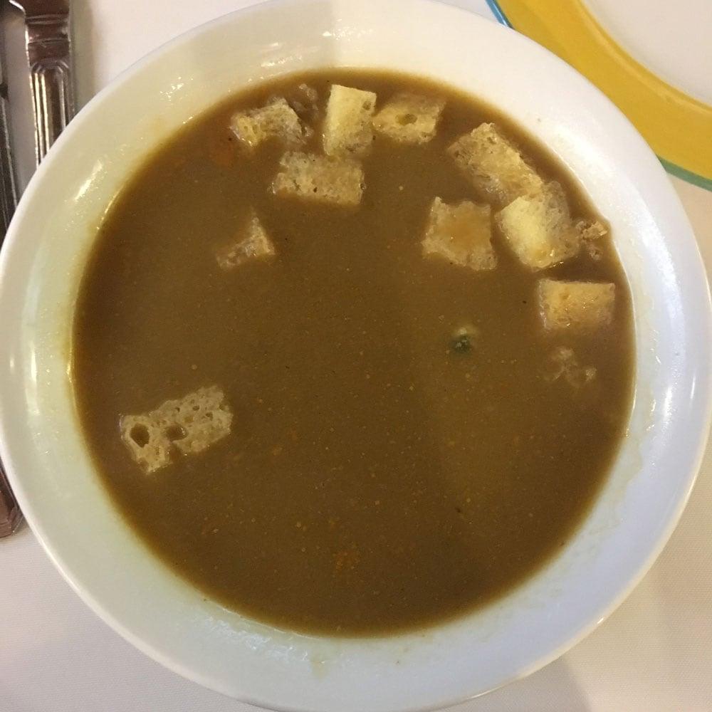 Espaço Lisboa seafood soup