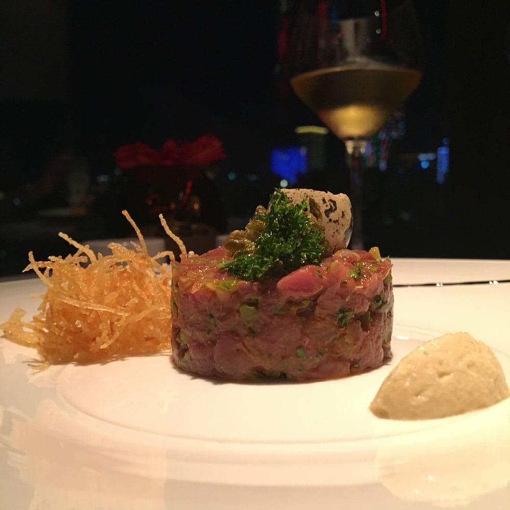 Prive Macau tartar of Australian Beef Tenderloin