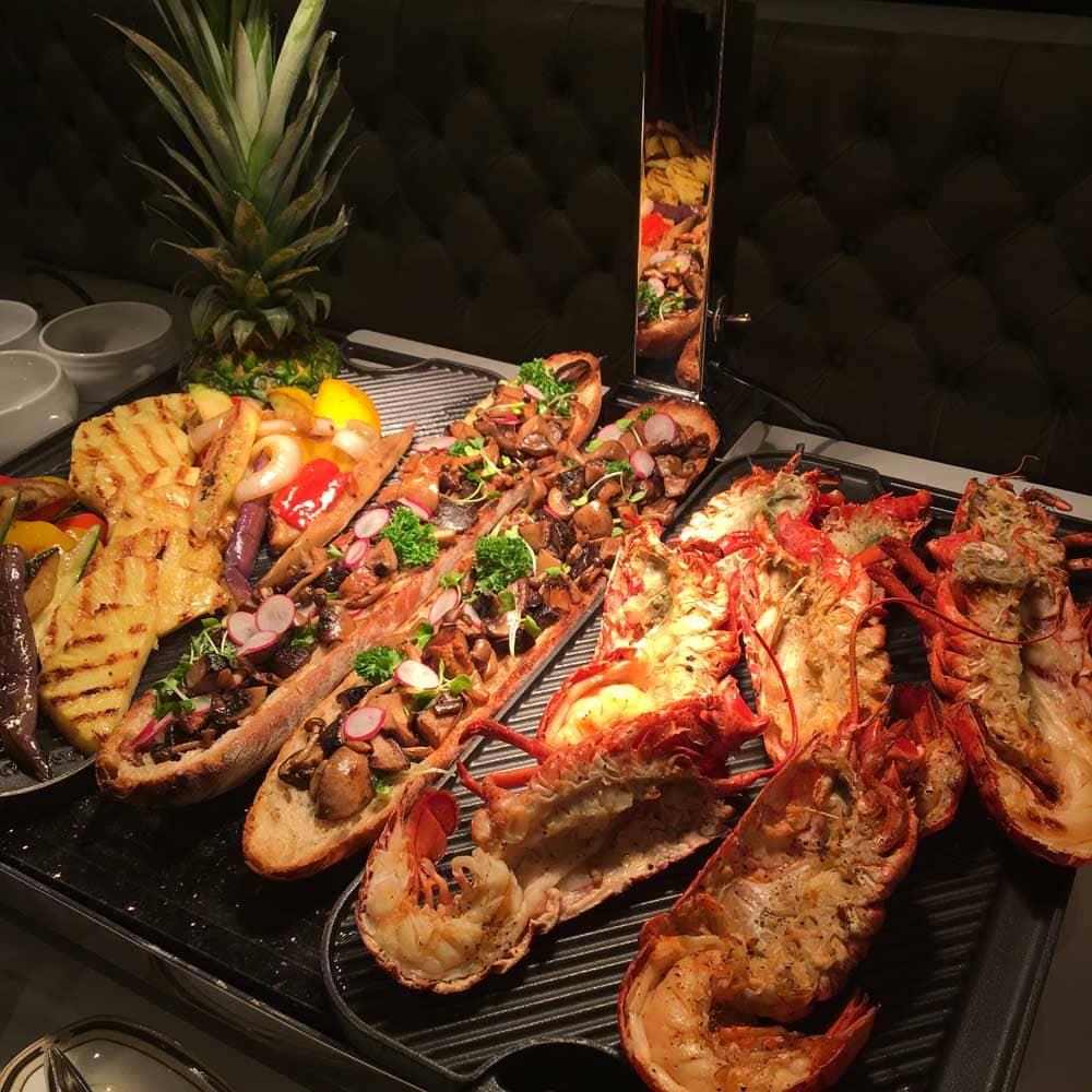 Ritz-Carlton Cafe Macau seafood