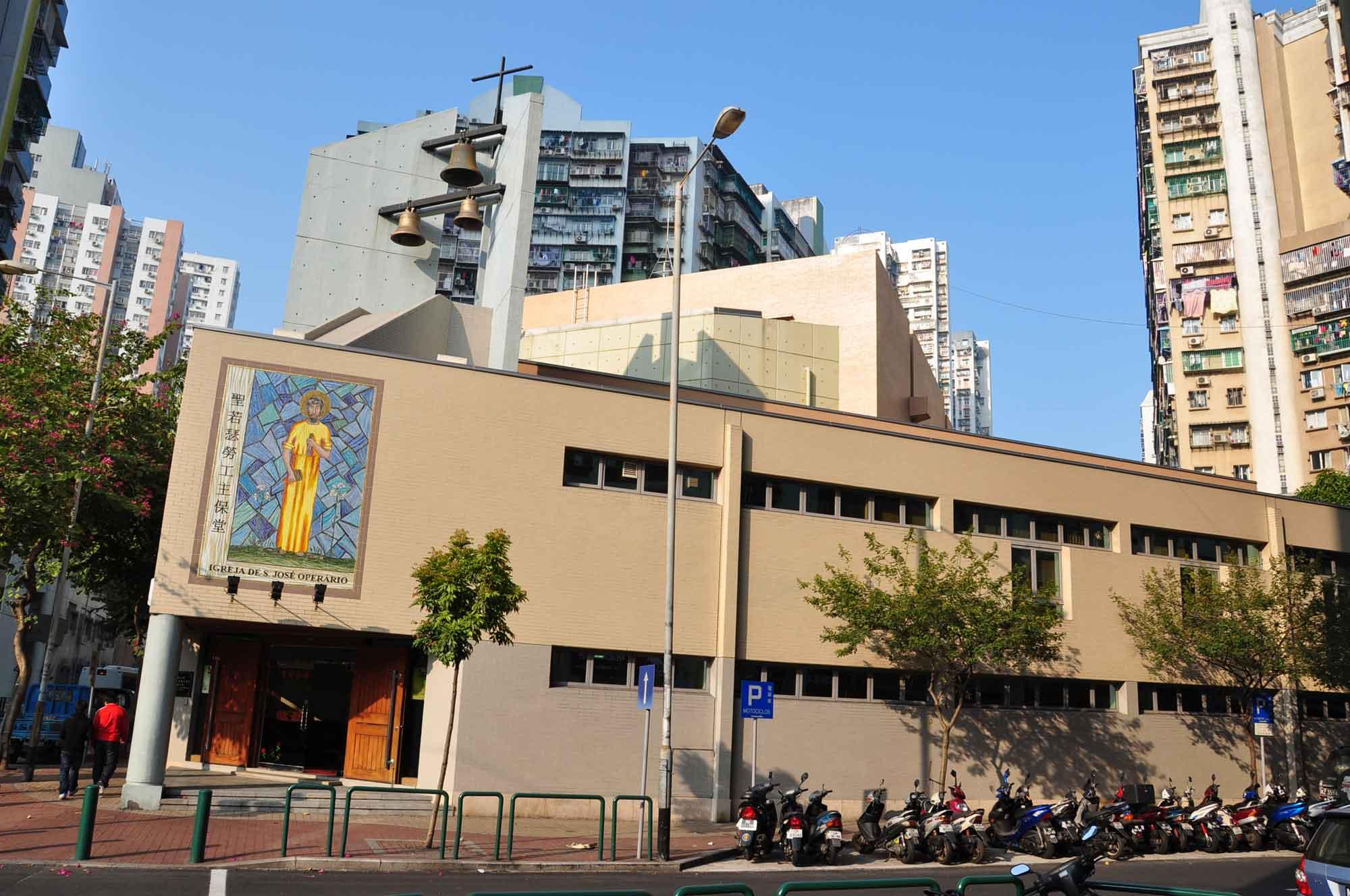 Macau Churches: St. Joseph the Worker
